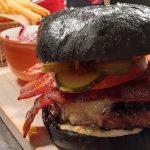 Gourmet Black Beef Burger