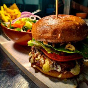 Gourmet Pulled Pork Burger